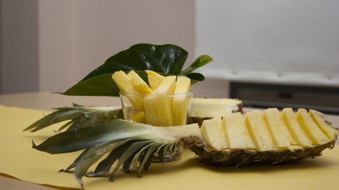 Sem desperdício – Receita para usar até a casca do abacaxi